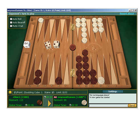 Backgammon Sites